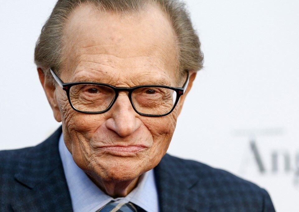 Larry King, murió este sábado a los 87 años, según informó su empresa.
